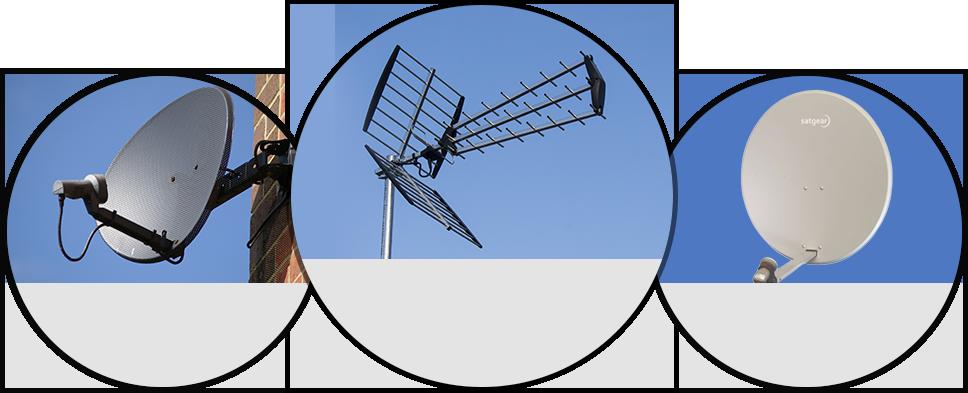 Instalacion y Reparacion de Antenas